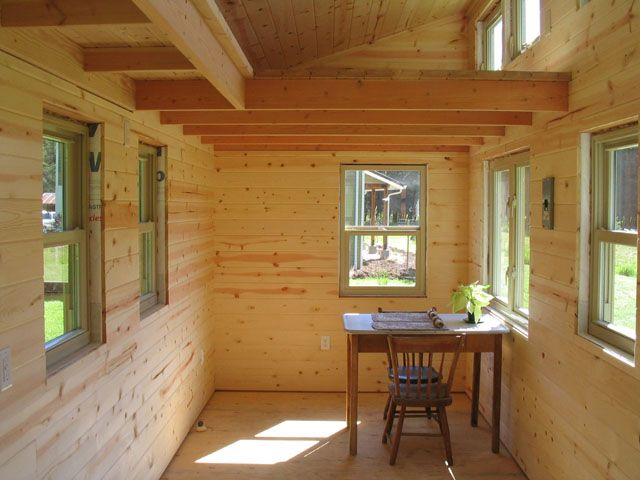 Alsek Cottage Tiny House Design Tiny House Shed Interior