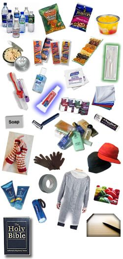 Care Package Ideas for the Homeless