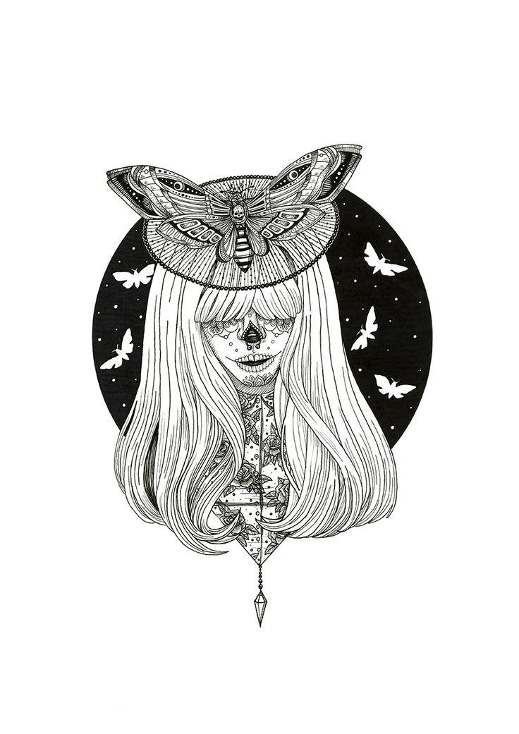 Lady moth https://www.behance.net/eivanafer51df https://www.facebook.com/eivyfernandez