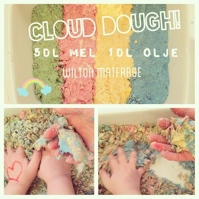 Cloud-dough we <3 this stuff!