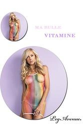 ROBE RÉSILLE MULTICOLORE COLLECTION 13 BULLES  http://www.prod4you.com/#!collection-lingerie-13-bulles-by-leg-avenue/cmjq