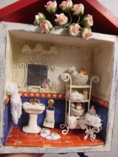 Top 25 ideas about cuadros artesanales on pinterest the - Cuadros para banos ...