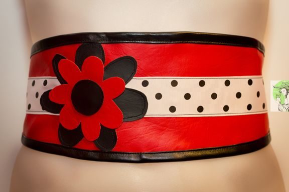 Waist-Cincher Style Belts for bold women who love to stand out in a crowd! Designed and Made in Toronto PERSONAL SERVICE/CUSTOM ORDERS ONLY  COLLECTION: BLOSSOM  $70