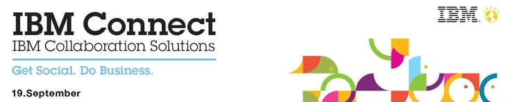 Die IBM Connect in Stuttgart nächsten Mittwoch. 19.09.2012 ist ausgebucht. Per Livestream kann man aber noch dabei sein: