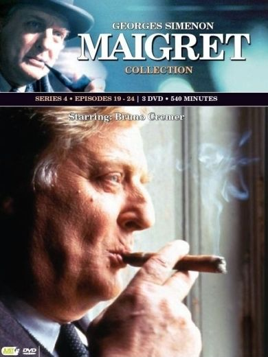 Maigret - Seizoen 4 - Alain Doutey, Bruno Cremer, Bruno Todeschini | DVD - eci.be