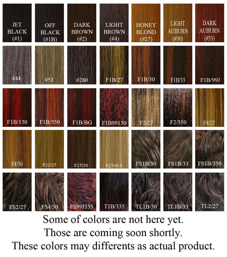 Cellophane Hair Color Chart Reddish Brown Hair Color