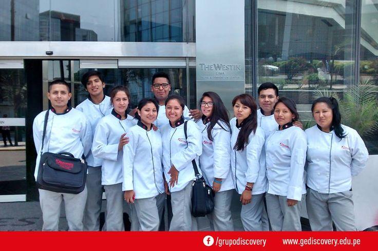 GE Discovery - Alumnos del curso de organización de alimentos y bebidas visitan the Westin Lima Hotel