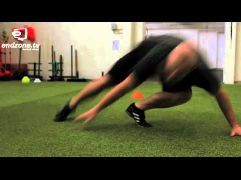 Here are some basic combine drills that can make you become a better football player.