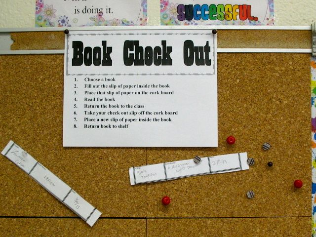 Finally a classroom library checkout system that is not time consuming. Mskcpotter: Classroom Library Checkout System