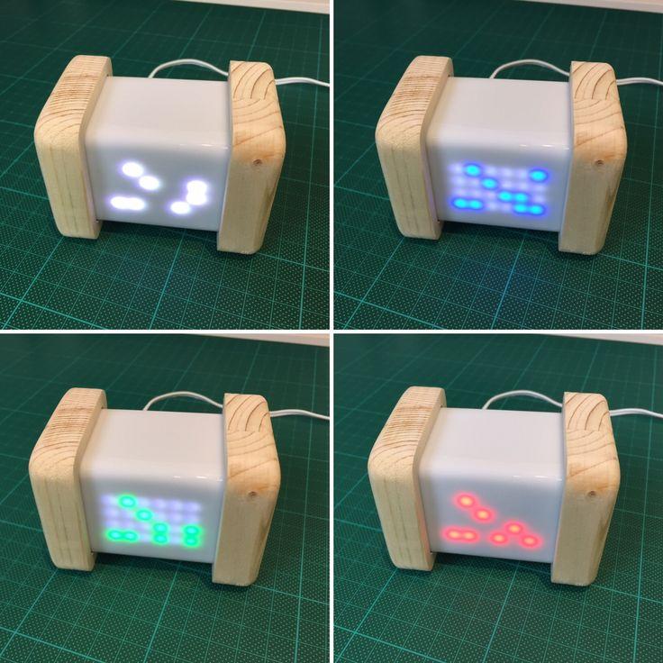DIY tuto Horloge Binaire