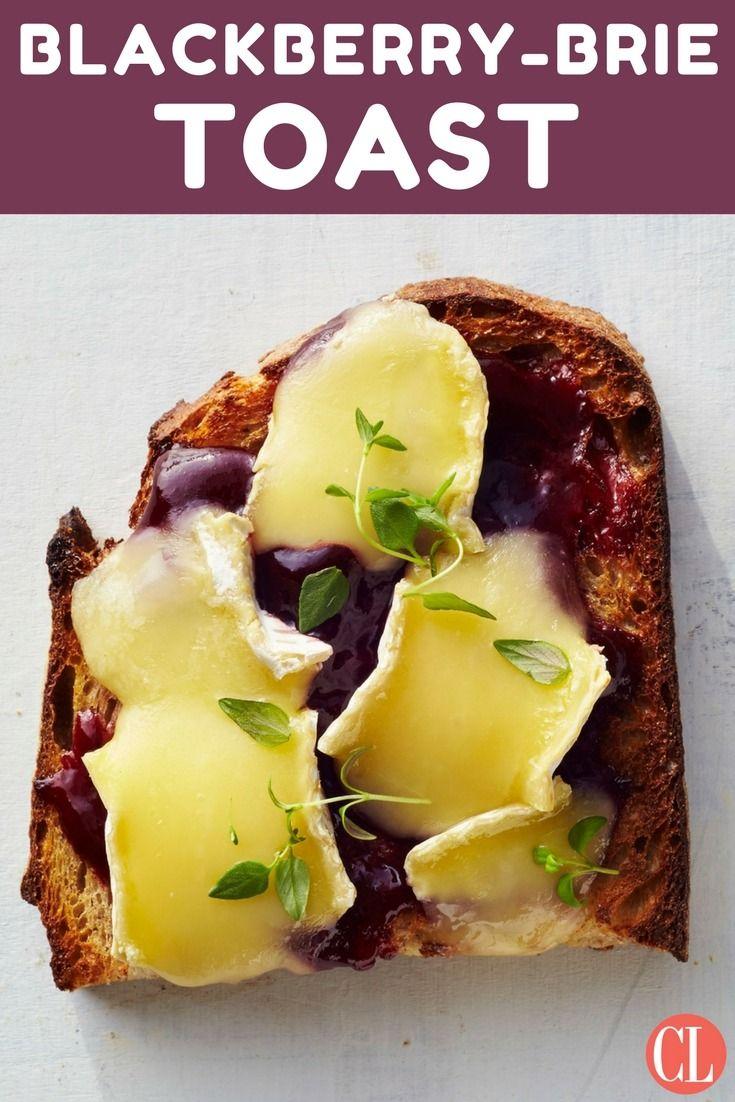 Blackberry Brie Toast. Breakfast SnacksBreakfast MuffinsBreakfast IdeasBreakfast  ...