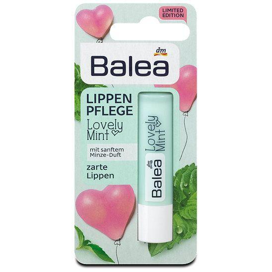 Balea Lippenpflege Lovely Mint, Lippenpflege im dm / Ich kann ihn jeden der Baleas Pflegestifte und auch Minze mag empfehlen