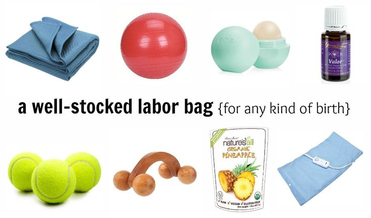 These are some great ideas of things to pack for labor that I never thought of...and I'm even a labor nurse!!