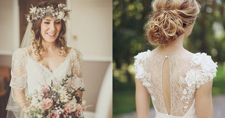 How To Maintain Your Wedding Hairstyle: Top 25+ Best Mid Length Wedding Dresses Ideas On Pinterest