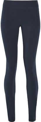 Helmut Lang Stretch-jersey skinny pants - Shop for women's Pants - Midnight blue Pants
