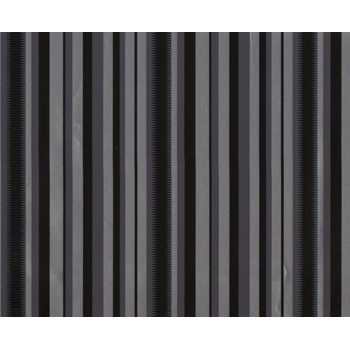 Inspirations Eco Gift Wrap - 24in x 417ft  Fashion Stripe 100% Recycled material -build your brand while saving the planet!