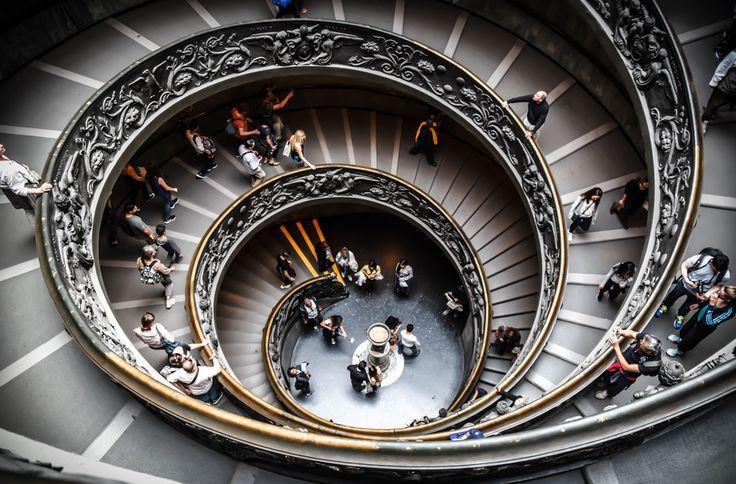 Vatican Spiral Stairway