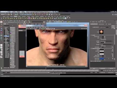 Maya Tutorial em portugues - Arnold Render - Fotorealistica Skin com Arnold - YouTube
