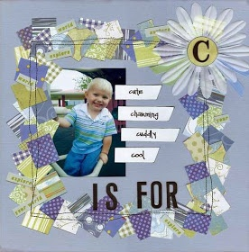 C is for...    SCRAP A LITTLE!: What to do with paper scraps?