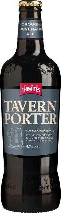 Thwaites Tavern Porter  (Blackburn, England. 4.7% ABV.)