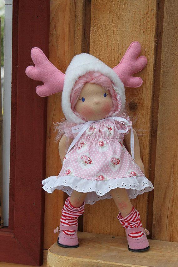 Custom Waldorf doll for Erica by reggiesdolls on Etsy