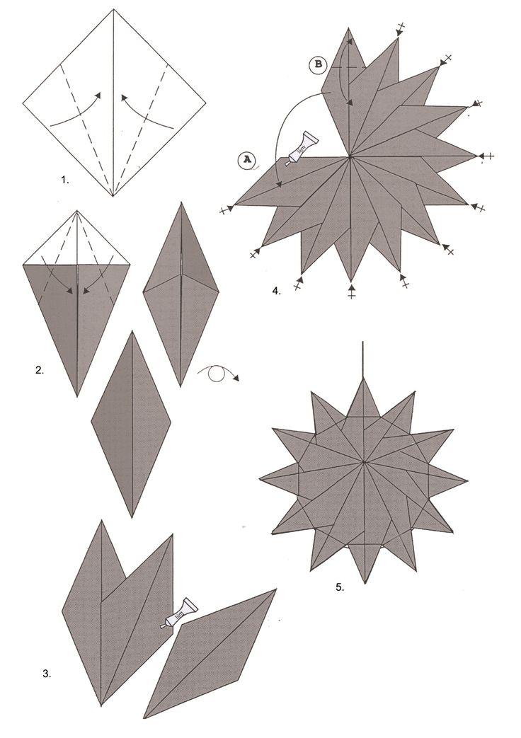 Nodig: origamipapier van 5 x 5 cm met motief A en motief B en effen kleuren.    theezakjes .  Dun draadje. ...