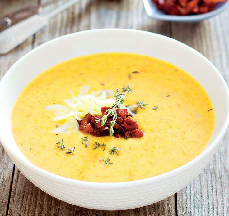 Supă-cremă de cartofi