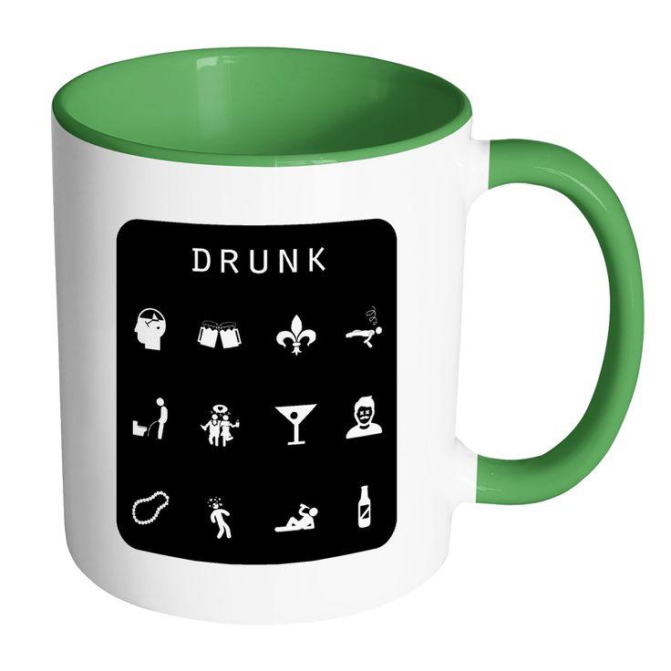 Drunk (NOLA) Accent Mug - Beacon