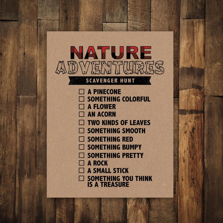 Camping Birthday Party Printable Scavenger Hunt Party Game, Nature Adventures, Outdoors, Boy Birthday, Plaid, Flannel, Lumberjack party by JordanSantosDesign on Etsy https://www.etsy.com/listing/464584519/camping-birthday-party-printable