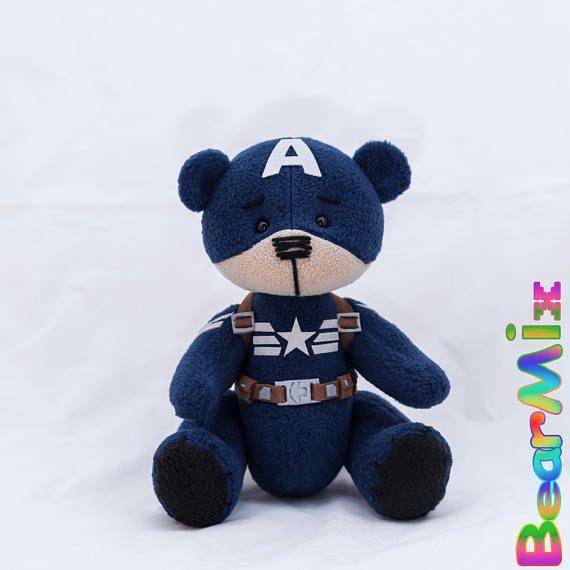 Captain America bear Stealth suit Капитан Америка