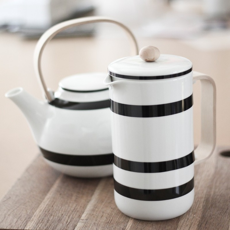 Kähler Design tea and coffee pot