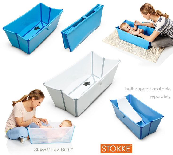 Baignoire pliable STOKKE FLEXI BATH 39€ + 16€ le kit new born