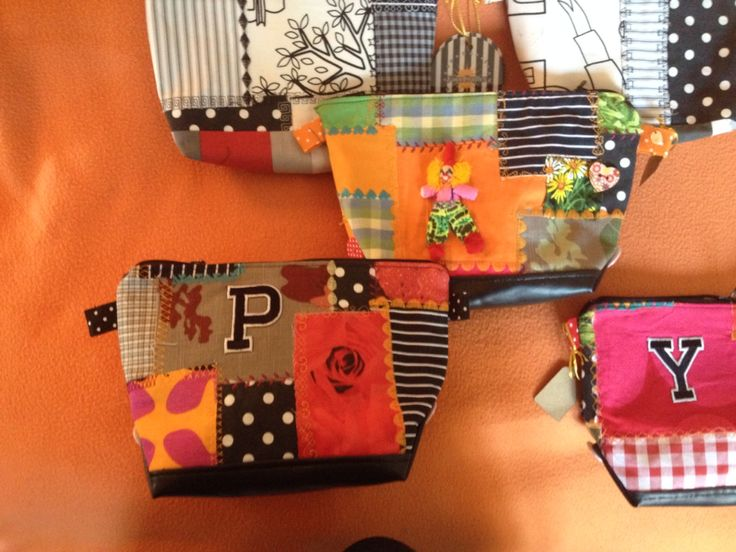 Zipper pouches made this weekend