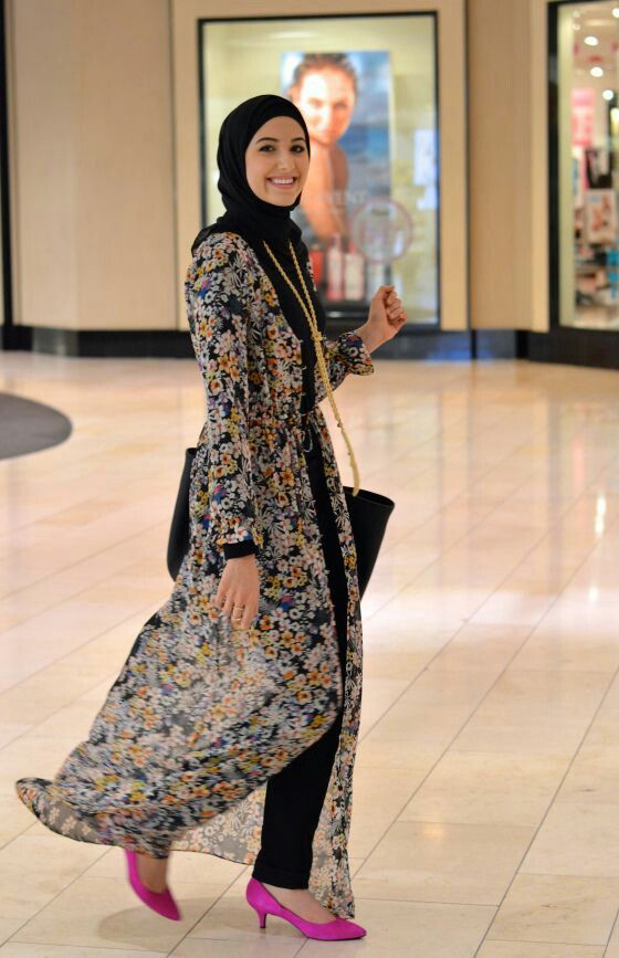 182 best hijab Maxi images on Pinterest | Hijab outfit, Modest ...