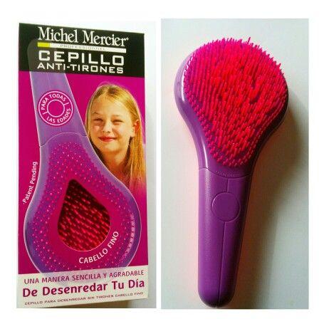 Cepillo antinudos cabello fino de Michel Mercier