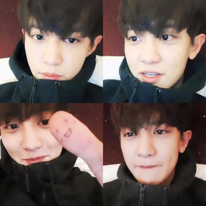 Chanyeol in V-app