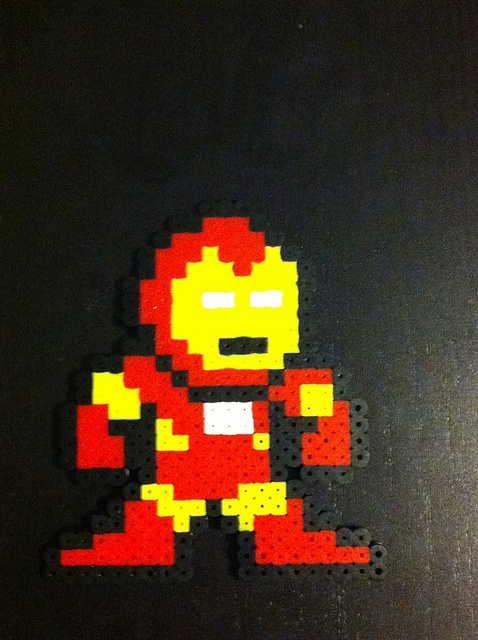 perler bead pattern superhero - Google Search   Melty bead ...   Superhero Fuse