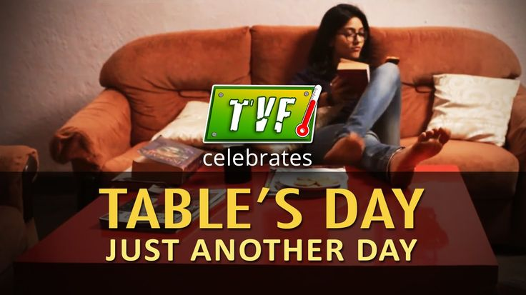 TVF Celebrates Table's Day Just Another Day