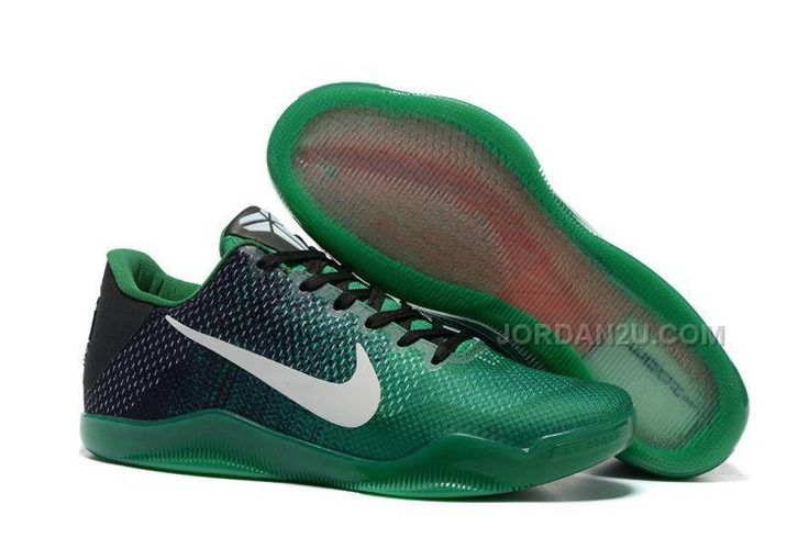 http://www.jordan2u.com/nike-kobe-11-black-green-shoes-for-sale-online-outlet.html NIKE KOBE 11 BLACK GREEN SHOES FOR SALE ONLINE OUTLET Only 92.28€ , Free Shipping!