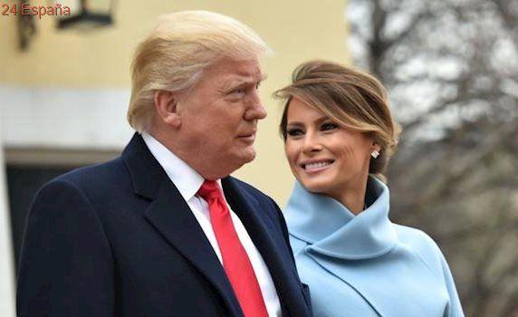 Melania Trump, muy a lo Jackie Kennedy en la toma de posesión