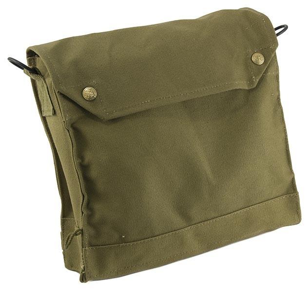 Todd's Costumes  - Indiana Jones Satchel Bag, $47.95 (http://www.toddscostumes.com/costumes/movie-costumes-indiana-jones-costume/indiana-jones-bags-belts-holsters-ect/indiana-jones-satchel-bag/)