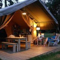 Luxe huurtenten op kleine campings