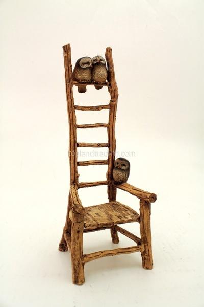 Handmade Owl Chair