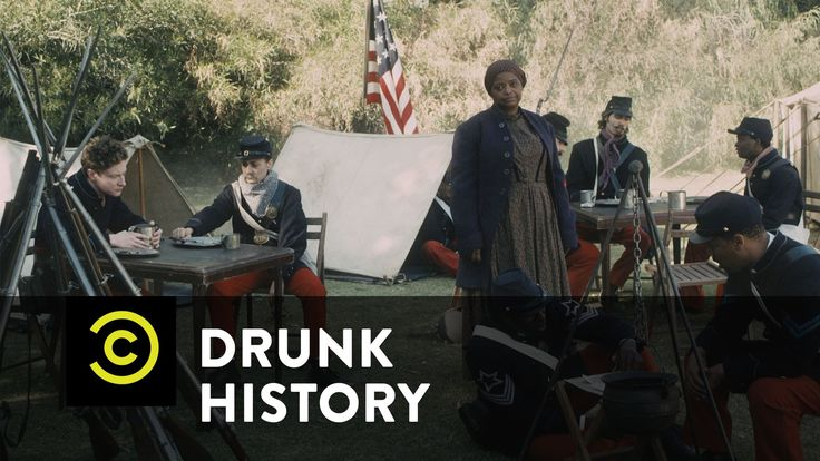 Drunk History - Harriet Tubman Leads an Army of Bad Bitches - YouTube