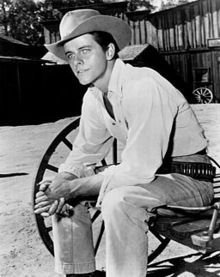 Peter Brown (October 5, 1935 – March 21, 2016) was an American television actor known for his four-year role as young Deputy Johnny McKay opposite John Russell as Marshal Dan Troop in the 1958 to 1962 ABC/Warner Brothers western television series, Lawman and as Texas Ranger Chad Cooper on Laredo from 1965 to 1967.