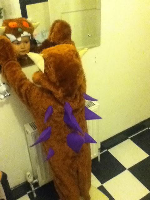 Another homemade gruffalo costume