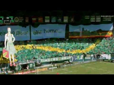 Green is the Color - The Portland Timbers song - YouTube