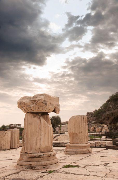 Ruinas del Santuario  Sagrado en Eleusis
