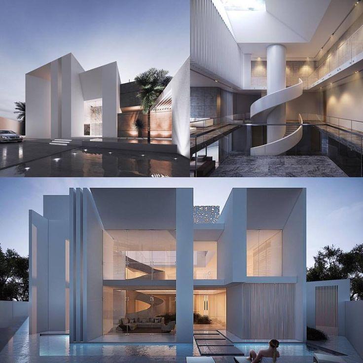 Villa Fahhad... Jeddah, KSA #creato #creatolifestyle #villa #saudistyle #jeddah  #villa  #luxe  #Dubai  #facades #architecture #project # design  #contemporary  #mansion  #interior  #luxury  #UAE   #contemporaneo  #espectacular  #casas