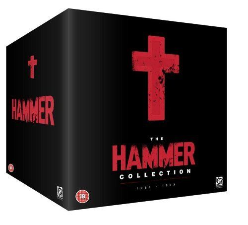 The Hammer collection •Blood from the mummy's tomb • Demons of the mind • Fear in the night • Dracula prince of darkness • One million years B.C. • Prehistoric women • Quatermass and the pit • Rasputin, the mad monk • Scars of Dracula • She • Straight on till morning • Devils ride out • Horror of Frankenstein • The nanny • Plague of zombies • The reptile • Vengeance of She • The witches • To the devil a daughter • Viking queen